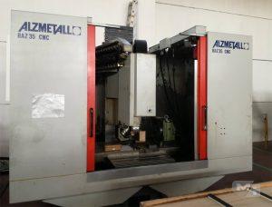 Centro di lavoro verticale Alzmetall baz 35 CNC