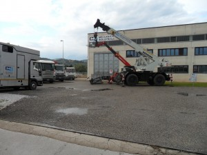 Parco mezzi aziendali (sollevamento e trasporto)