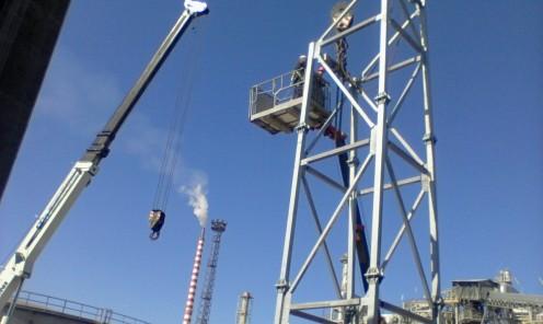 Costruzione, installazione e manutenzione impianti industriali