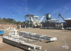 Costruzione e montaggio impianto di gassificazione a biomasse, centrale di Monterotondo