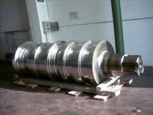 Cilindro di laminazione in acciaio grafitico