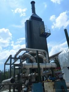 Realizzazione nuovo impianto alimentazione aria surriscaldata presso Area Sperimentale Sesta