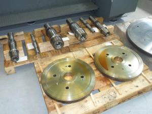 Costruzione kit completo ingranaggi moltiplicatore di giri per estrattore gas turbina a vapore