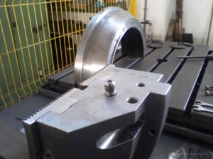 Costruzione manicotti di tenuta vapore per turbina con protesi in acciaio inossidabile AISI316