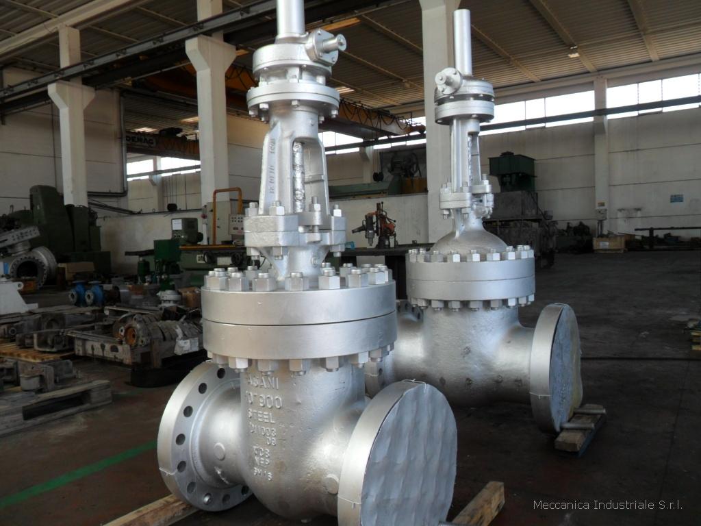 Revisione completa di valvole a saracinesca per vapore geotermico ANSI 600 e ANSI 3000