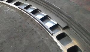 Ripristino palettature parti statoriche turbine vapore